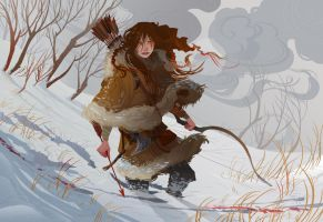 Winter Hunt by Nafah