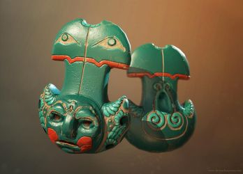 Ancient Ocarina by crazy-pixel
