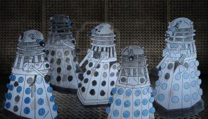 Intensive care daleks how they should have looked by Animedalek1
