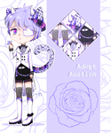 |auction-open| Shy rose by Yuko-n