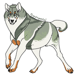 Wolf Adopt #9 by Quadrupedal