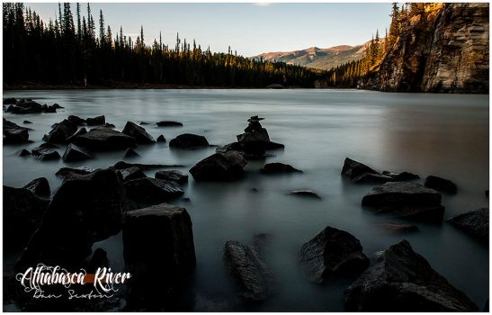 Athabasca River by Solau