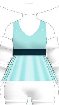 MMD Rummy Flared Top DL by 2234083174