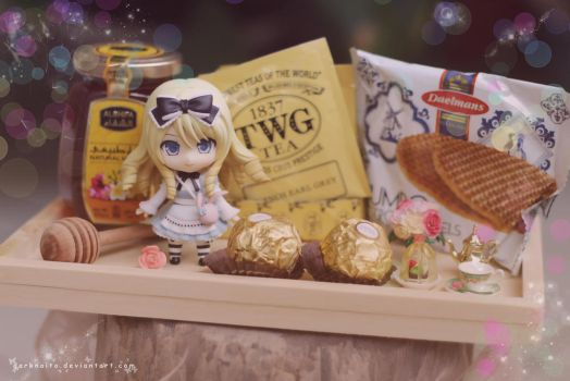 Tea time Alice by darknaito