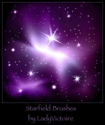 Star Brushes 3 by LadyVictoire
