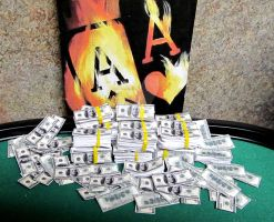FLAMING ACES AND LOTS OF MONEY by TEOFAITH
