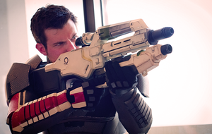Mass Effect Cosplay Photoshoot - DragonCon by Swoz