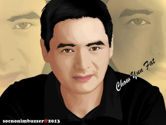Chow Yun Fat by socno