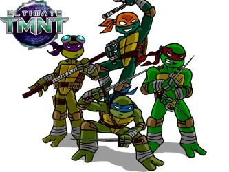 ULTIMATE TMNT Redesign by Dreven