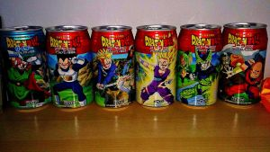 Dragon ball Z - Cell saga cans by nial-09