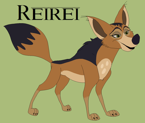 Reirei -- Living It Up Jackal Style by Witch-Doctais46