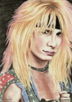 Vince Neil by SavanasArt