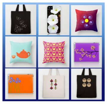 FREE Shipping* in my Society6 shop! by DemonKourai