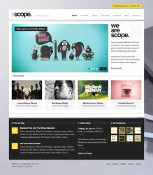Scope WordPress Theme by ormanclark