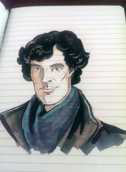 Sherlock by freedezigner