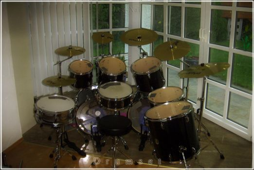 My Drumset by Lee-Xai