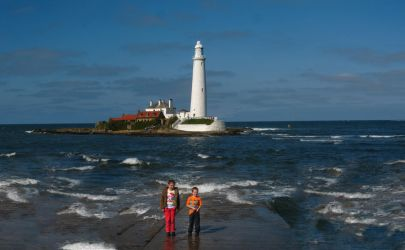 St. Marys Lighthouse Whitley Bay 2 by Ever-Winter-Dreams