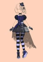 [closed] Auction Gothic loli Outfit 182 by YuiChi-tyan