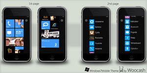 Win7Mobile Theme v1.2 by woocash-kun