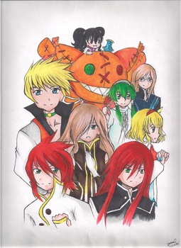 tales of the abyss by shinymudkips