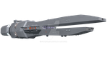 Cole Class Destroyer WIP by starfleet