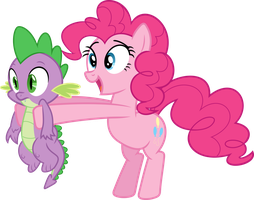 Here!  You Can Take Spike! by PsychicWalnut