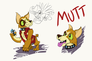 Mutt Character Sheet by LytletheLemur