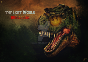 The Lost World : JP alternate poster design by Aram-Rex