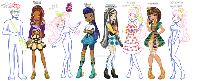 Ever Monster High WIP