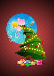 Christmas Tree by capdevil13