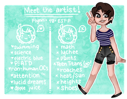 [Personal]: Meet the Artist! 2.0 by SimplyDefault