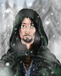My friend's LOTR OC  - Berenion by Sothorill