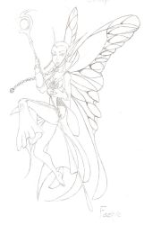 Faerie Warrior by Angry-Eyeball