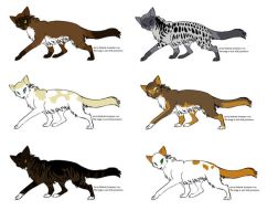 Cat Adoptables 2 -CLOSED by Perlenmond