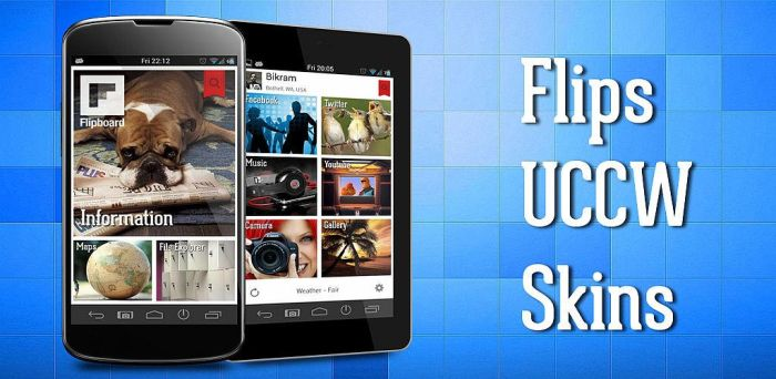 Flipboard theme for Android by bagarwa