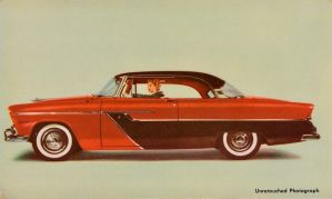 '55 Plymouth Belvedere Sport Coupe by Yesterdays-Paper