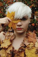 MAPLE LEAF DRESS 1 by yellowpin
