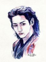 Gwi|Lee SooHyuk from  Scholar Who Walks the Night by SakuTori