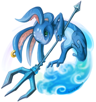 Fizz The Tidal Trickster by RinTheYordle