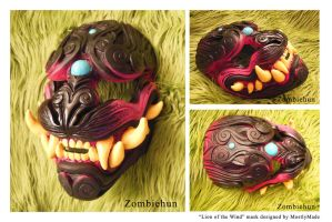DIY Lion of the Wind mask by ZombieHun