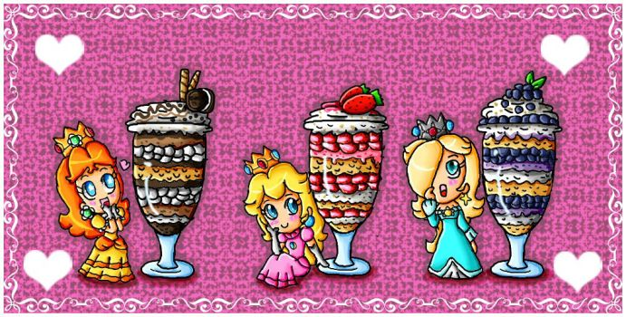 princesses and parfait by ninpeachlover