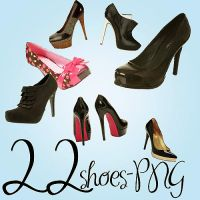 22 Very Cool Shoes PNG by lionarea86