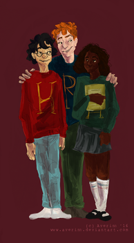 Ugly Sweater Trio by Averinn