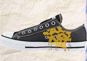 Zoo york Converse by willybones