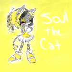 Soul the Cat by little-x-flower