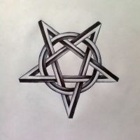 Pentagram by GLORIPEACE