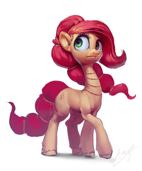 The Red Mane by AssasinMonkey