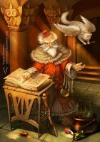 The Great Work ( The Wizard and His Magic Pet) by vertry