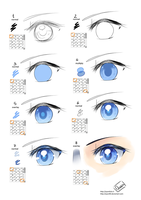 T:How i color the eyes ... by Qsan90