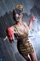 Silent Hill Nurse by LauraCraftCosplay